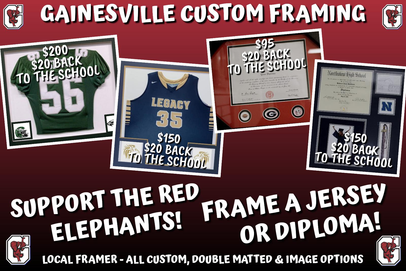 Custom Framing Options – Support GHS