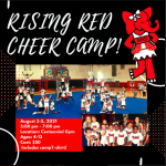 Rising Red Cheer Camp