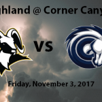 Football: Playoff Game Friday, November 3, 2017 – 3:00 PM