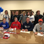 Chargers Sign National Letters of Intent