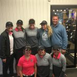 Girls' Golf Takes 20 Stroke Lead After Round 1