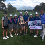 Girls' Golf Captures State Title, Completing the Three-Peat