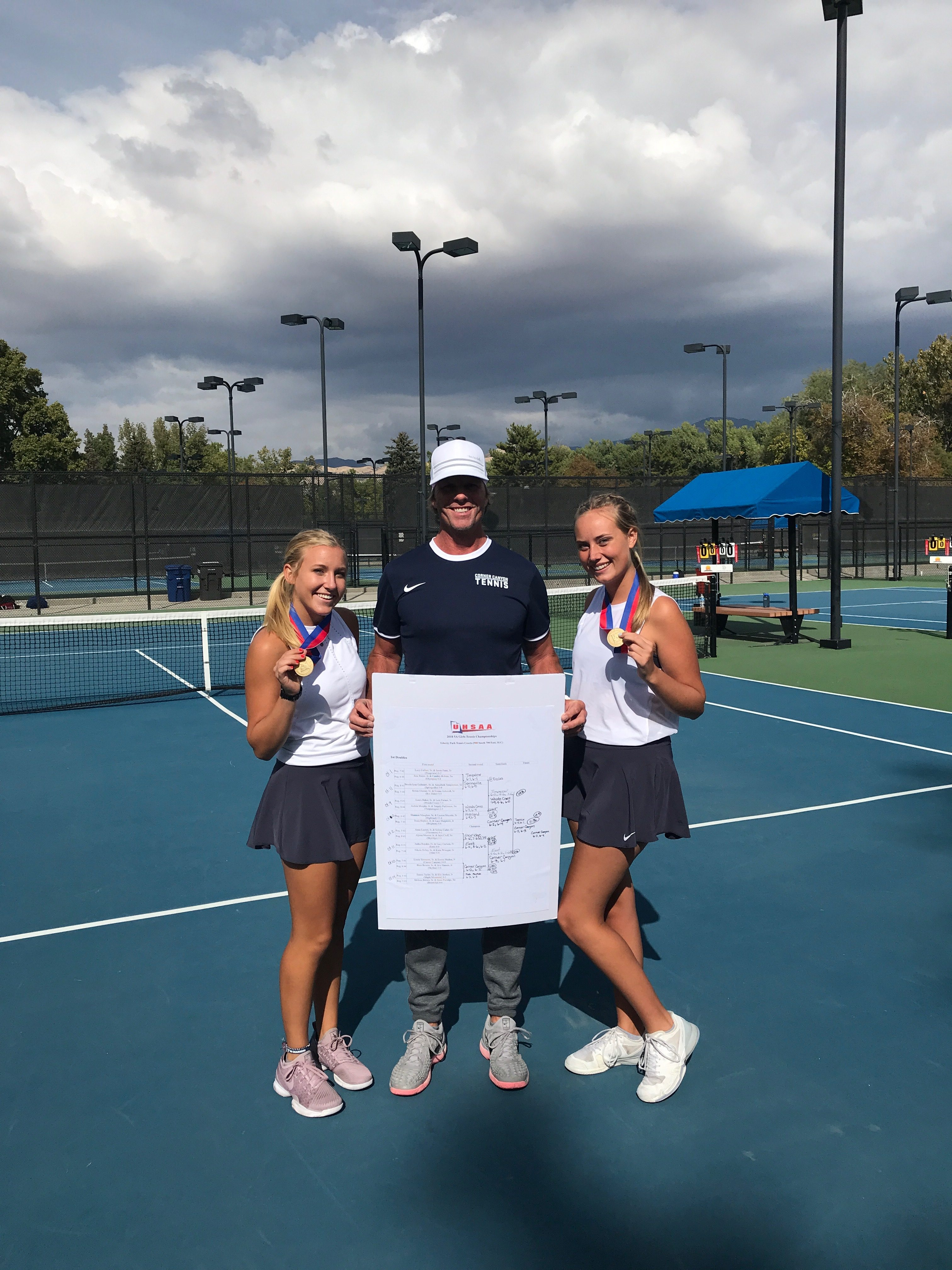 Emma Heiden and Lizzie Simmons – November Athletes of the Month