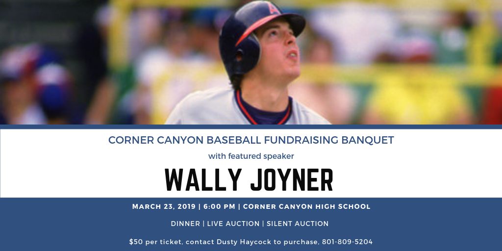 Tickets Available for Baseball Banquet with Wally Joyner