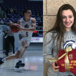 Rivers Johnson and Luke Warnock – Athletes of the Month