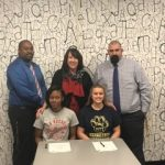 Two Wolverines Sign Softball Letters-of-Intent
