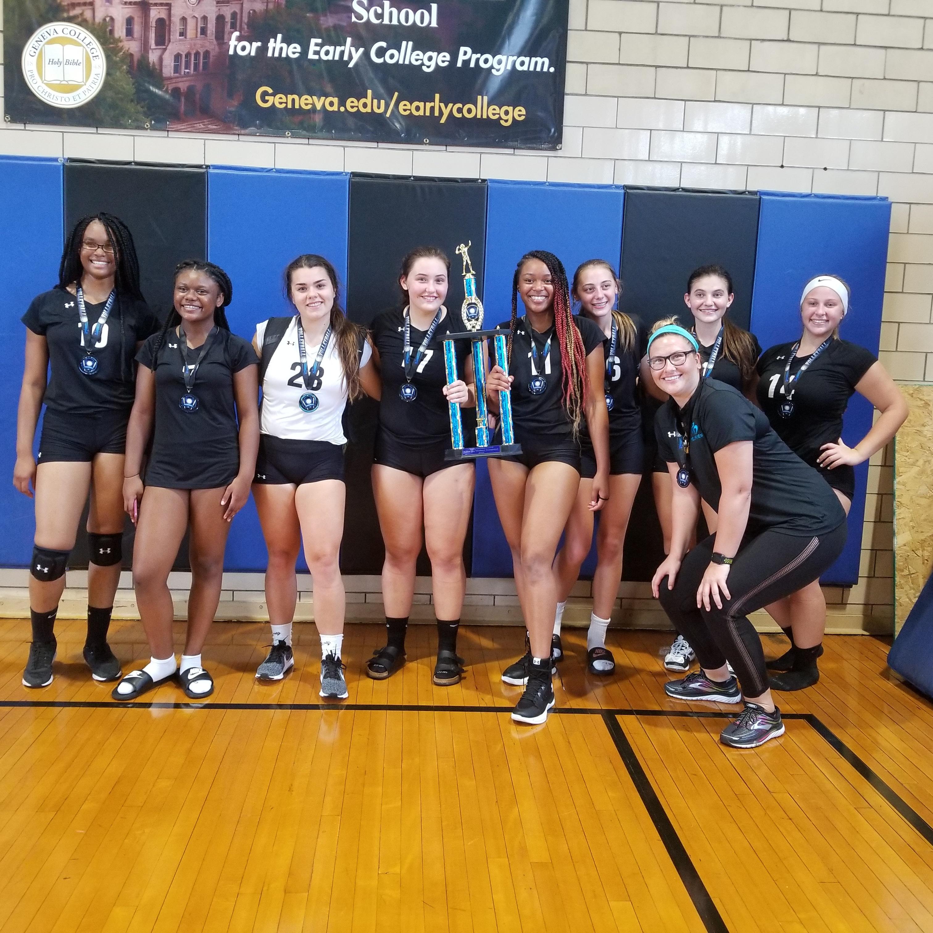 Lady Wolverines win Trinity Tournament
