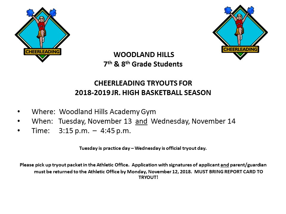 7th-8th Grade Cheerleading Tryouts