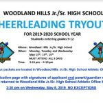 Cheer Tryouts 2019