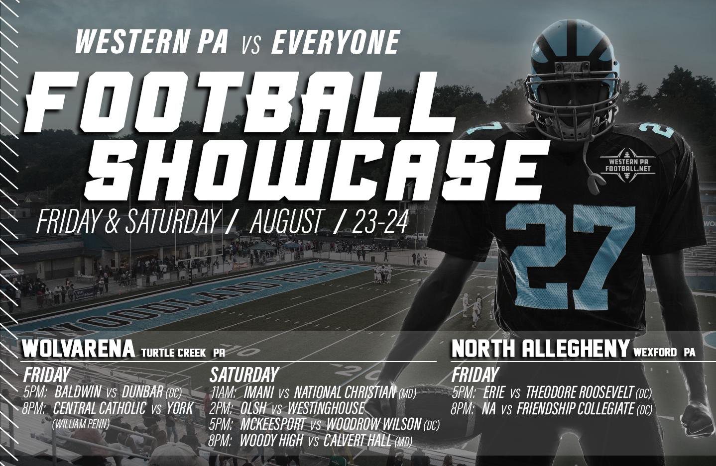 Football Showcase Returns