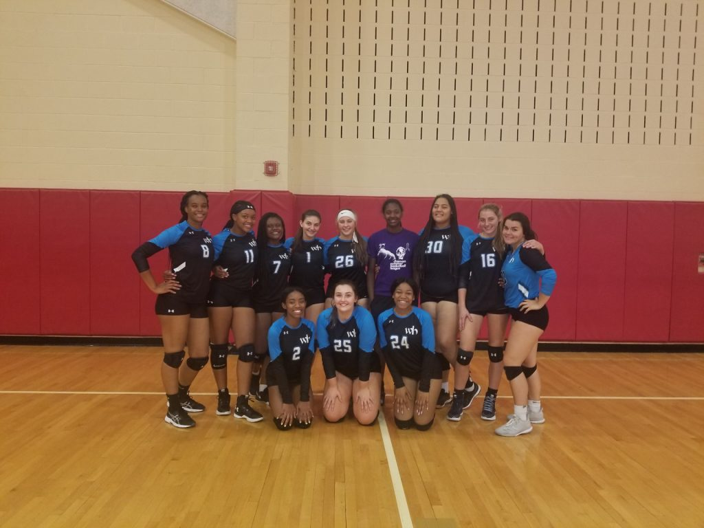 Varsity Volleyball: 2019 Penn Hills Tournament Champions