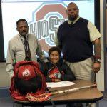 Senior Chloe Johnson signs with Ohio State!
