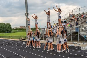 Cheer leading