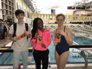 Swimming – Swimmers of the Meet 2017-2018