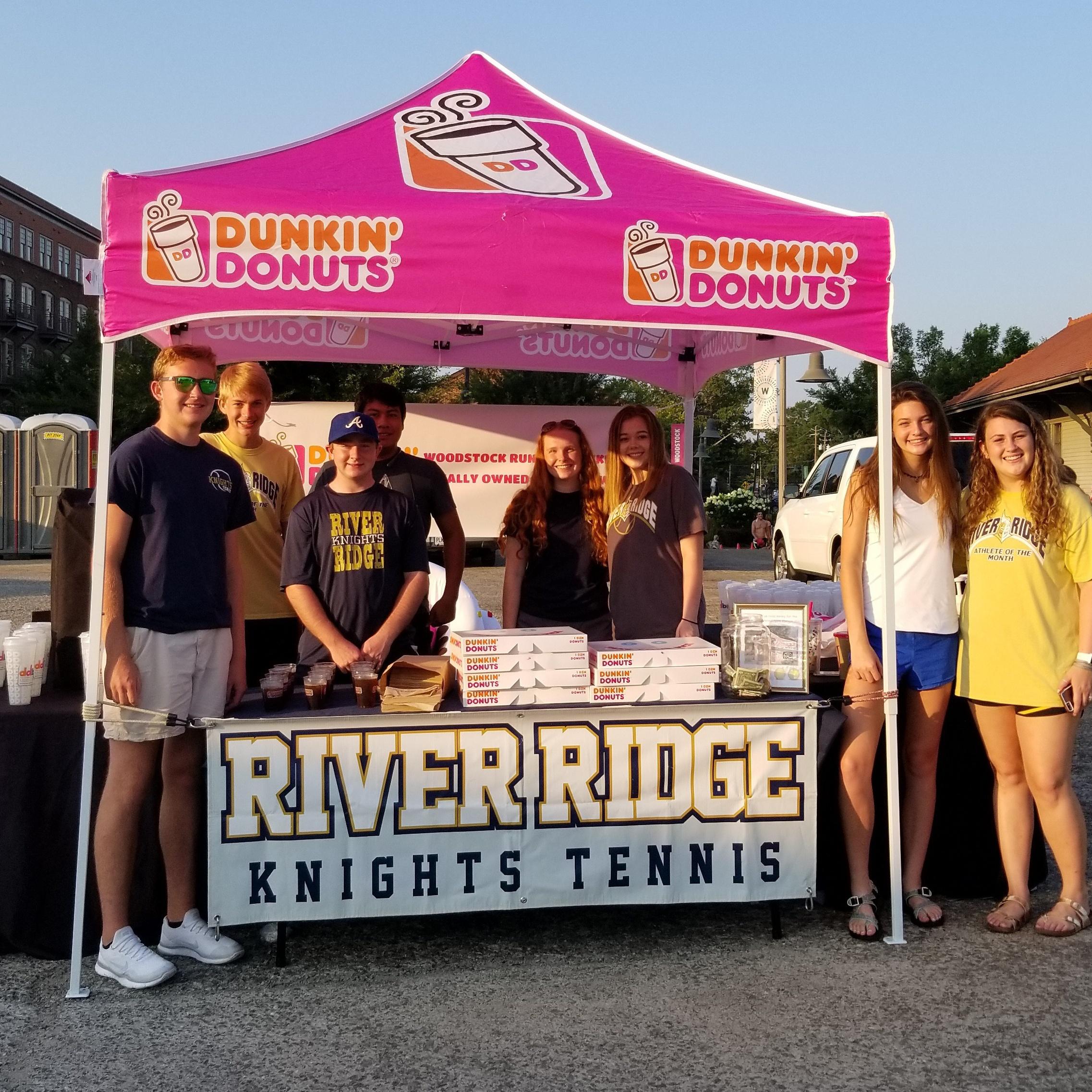 Knights Tennis Dunkin' Spirit Night Wednesday, October 17th from 4-7 p.m.