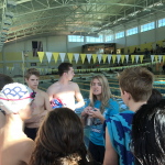 River Ridge Swim Team finishes 2nd at Cherokee Quad Meet