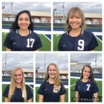 Lady Knights Soccer players named to All-Region Teams!