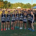 Varsity Cross Country Girls Place 1st at the 16th Annual War Eagle Invitational