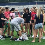 River Ridge attends first GIRLS flag football camp at Woodstock High School