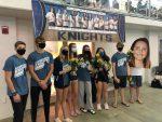 Knights place 2nd at Senior Night Swim Meet