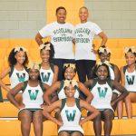 2017 – 2018 Woodlawn High School Cheerleaders!!
