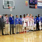 WMAA's Boys Varsity Basketball team gets a  62-48 victory over CTA