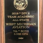 WMAA Boy's Basketball team earn Academic All State Award