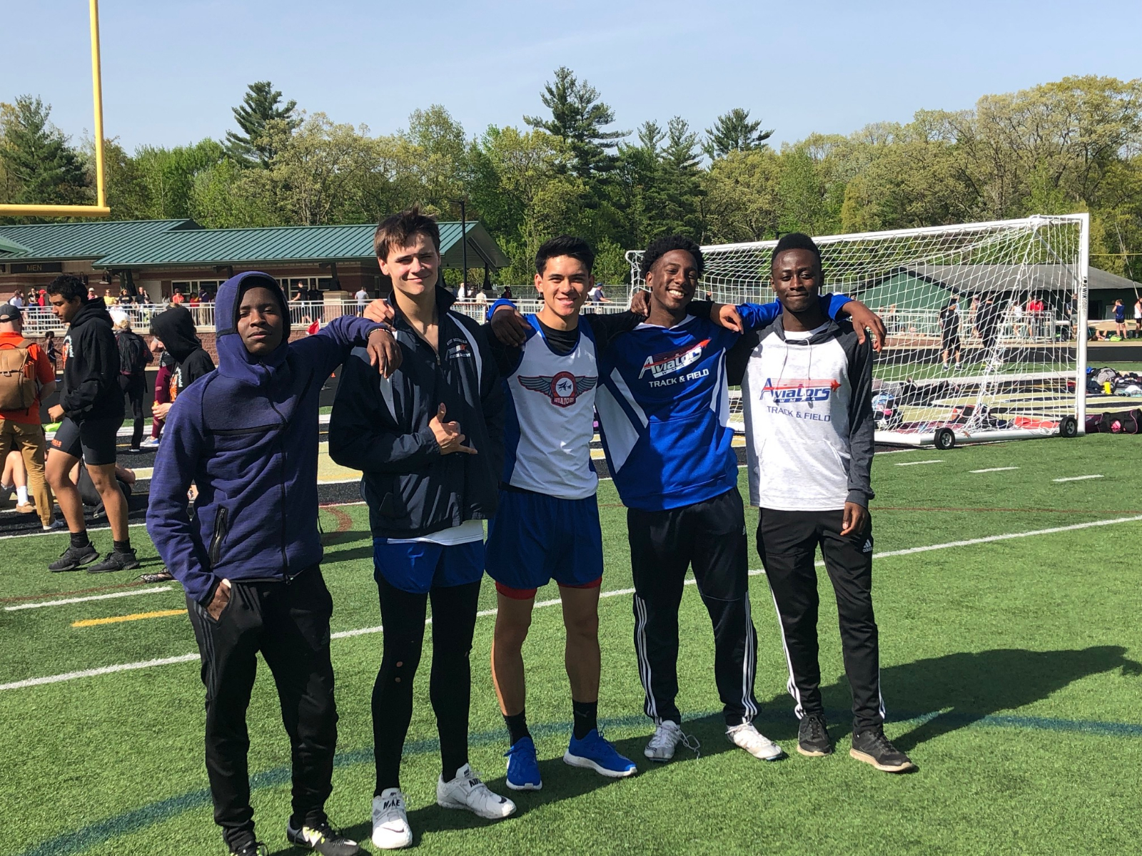 Former WMAA Track standouts Abdullahi and Abdiyow excelling at Aquinas