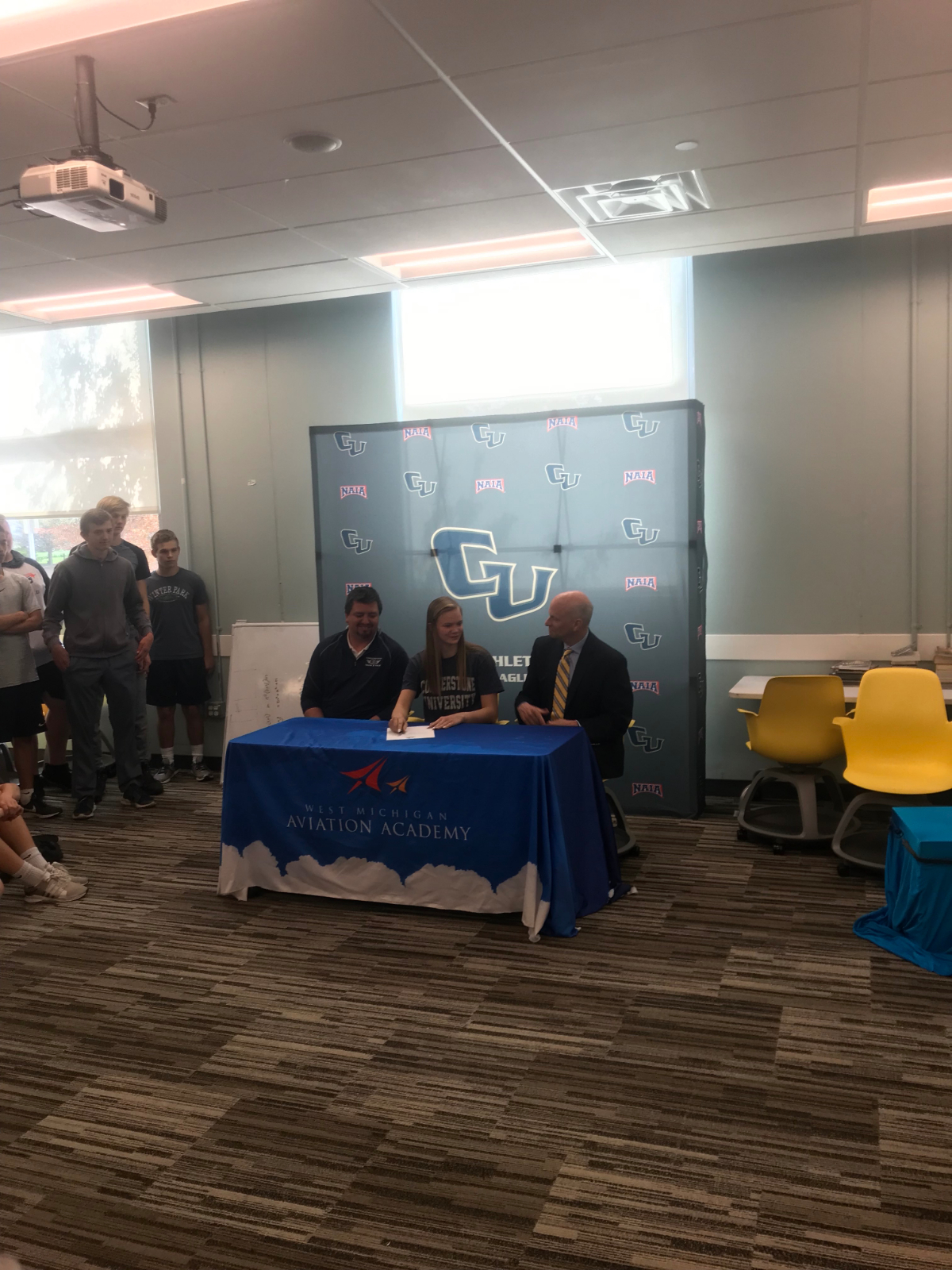 Alexis Earley signs letter of intent to High Jump at Cornerstone university
