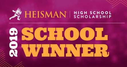 Congratulations to Karlie Platz for being named a National Heisman High School Scholarship school winner!