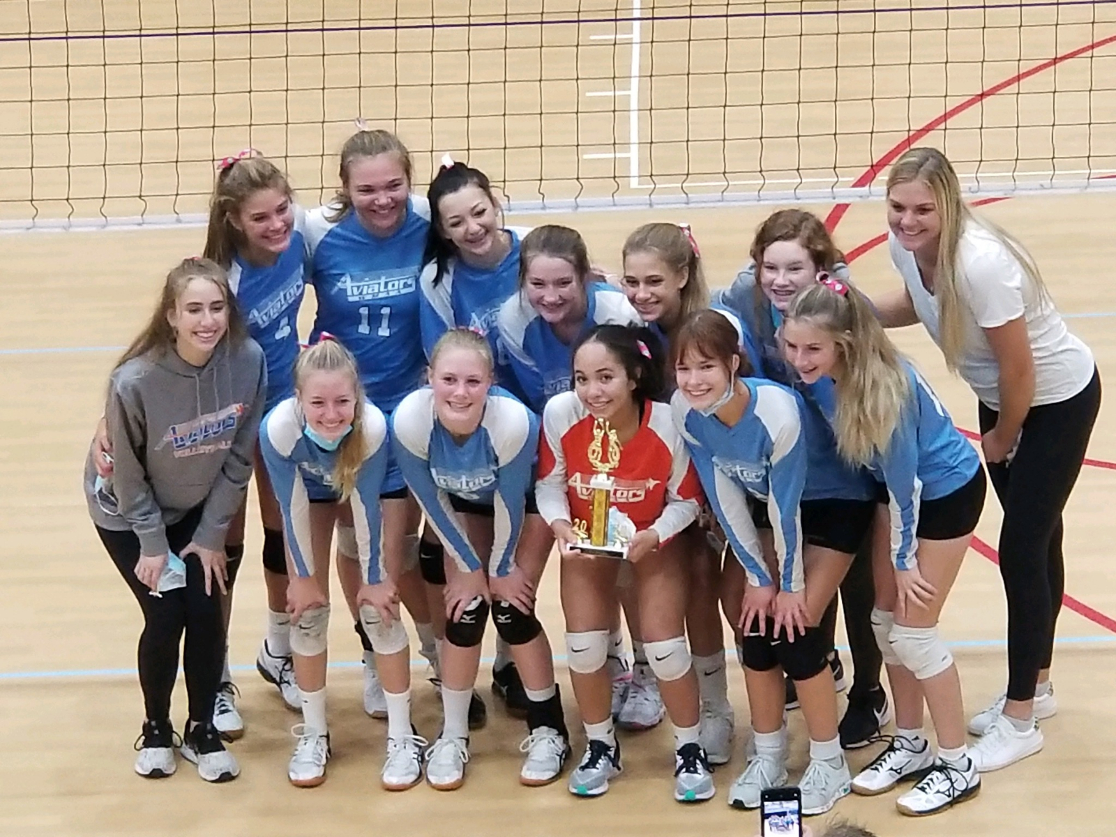 JV Volleyball finishes the Season undefeated!