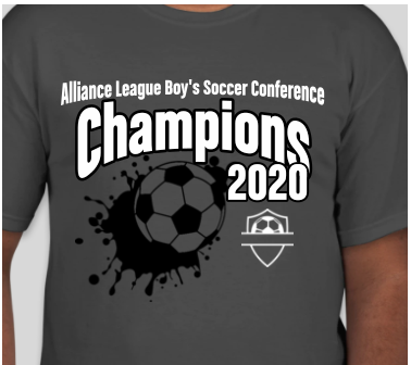 Soccer championship T-shirts