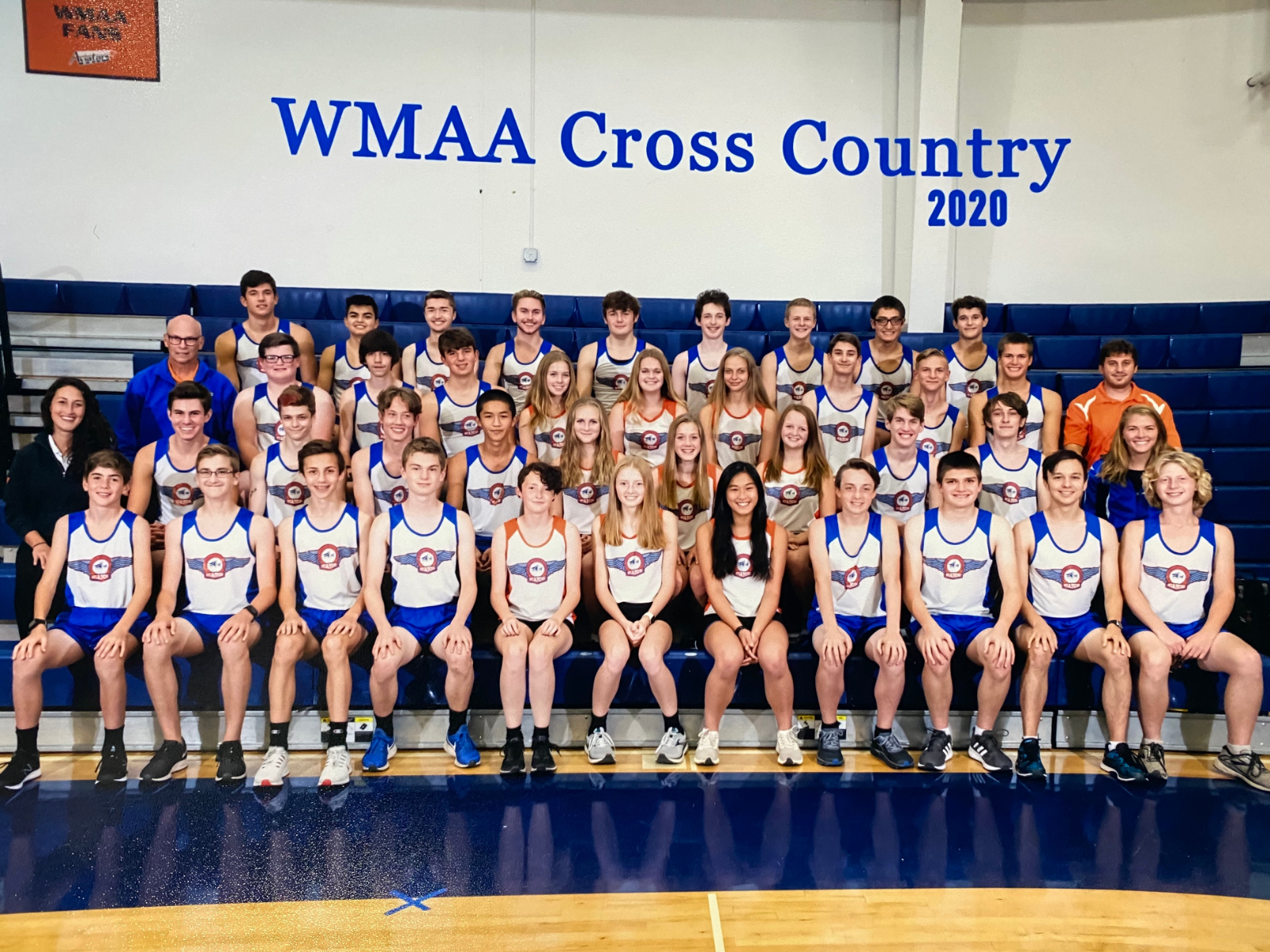 Boys and Girls Cross Country Alliance League Champs!