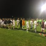 Varsity boys soccer finishes regular season with a win