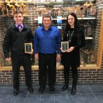 Gabrielle Kapuscinski and Tipp Baker Selected as October Athletes of the Month