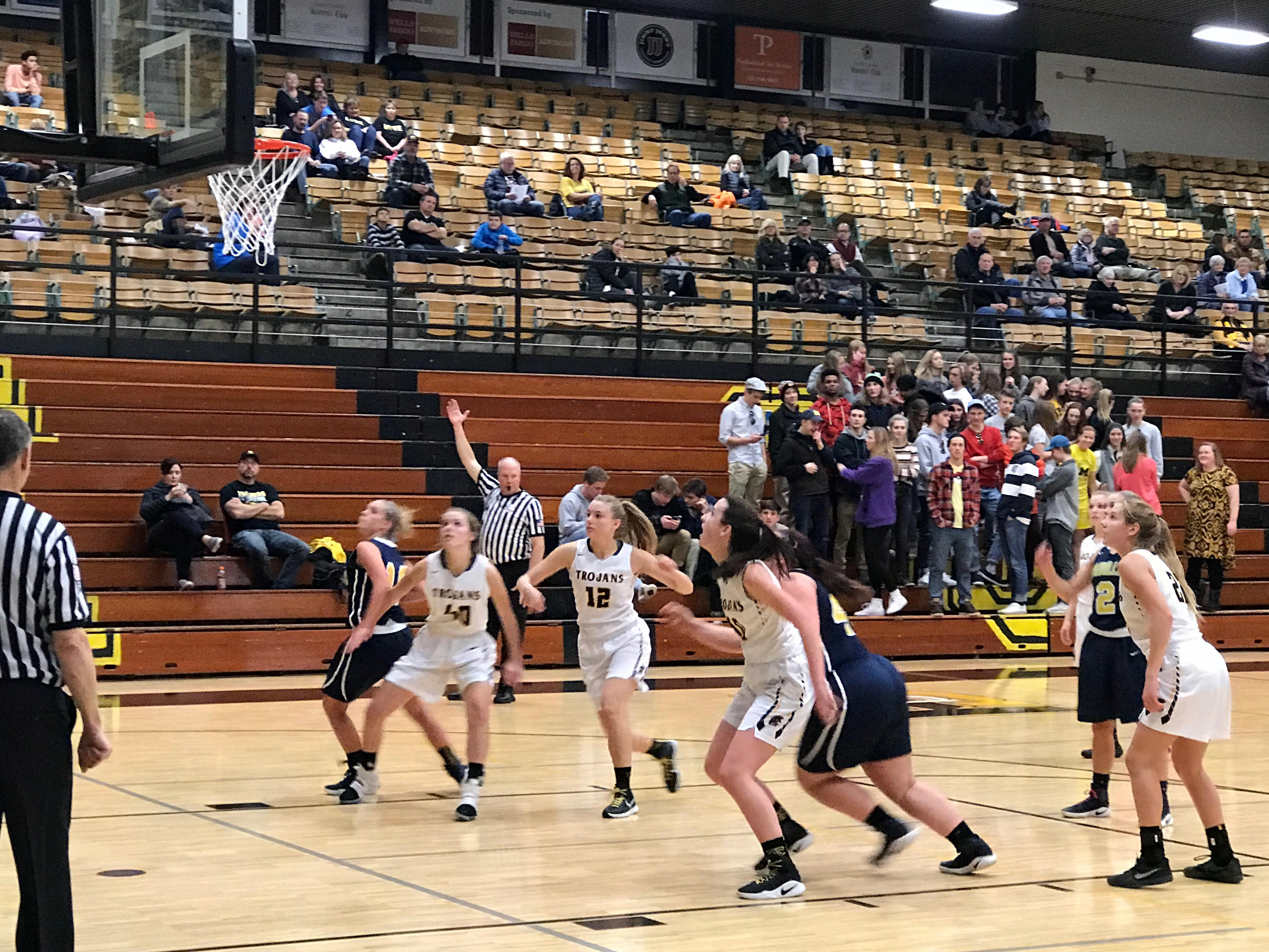 Varsity Girls Collect First Win of the Season Over TC Central