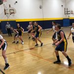 Cadillac Junior High Girls Basketball Takes on Gaylord