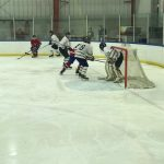 Loss to Big Rapids Ends Hockey Season