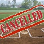 Baseball/Softball Games Cancelled, Practice Information