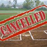 Baseball/Softball Game Cancelled