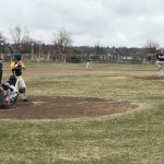 Baseball Takes Second at Evart Invite