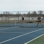 Tennis Finishes Third at Invite