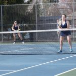Tennis Drops Match to Petoskey