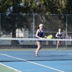 Tennis Scores Big Against Mt. Pleasant