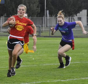 Powderpuff Football and Volleyball