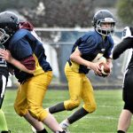 Jr. High Football Scores Win Over Petoskey