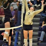 Volleyball Competes for District Title