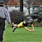 Jr. High Football Beats Kingsley