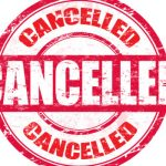 Cancellations for Friday and Saturday