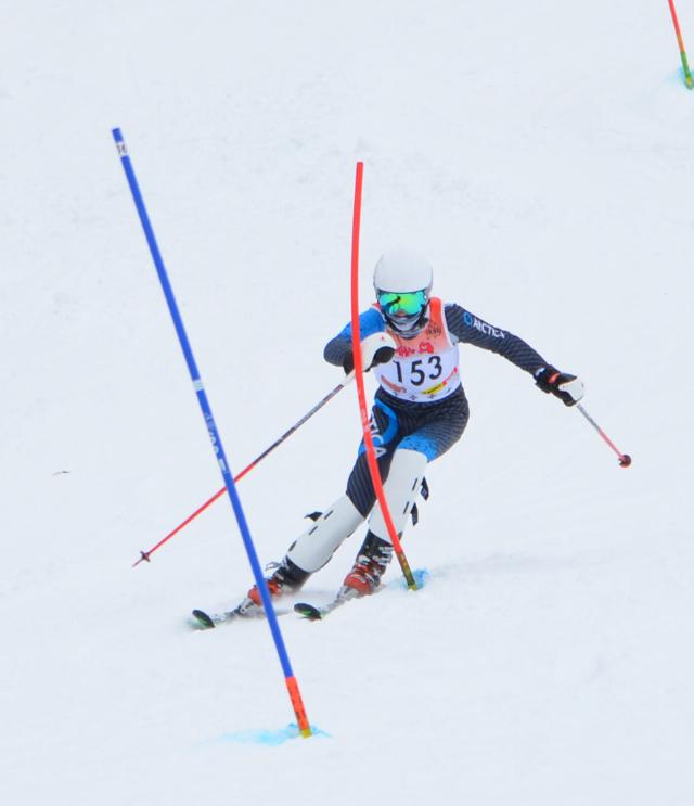 Girls Ski Qualifies for States, Netzley Takes First